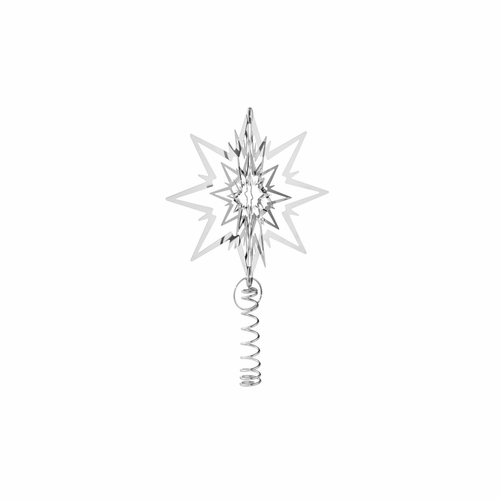 Tree Top Star, Palladium Plated, Small