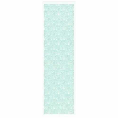 Ekelund Weavers Turquoise Table Runner, 14 x 47 inches