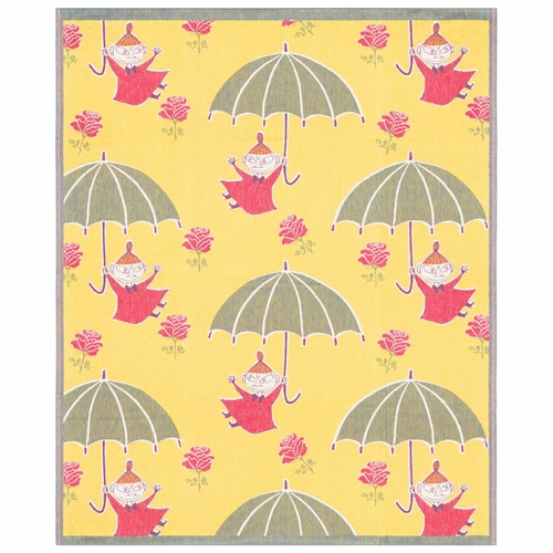 Ekelund Weavers Umbrella Soft Throw, 55 x 67 inches