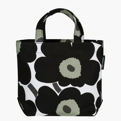 Marimekko Unikko/Veronika Bag, White/Black