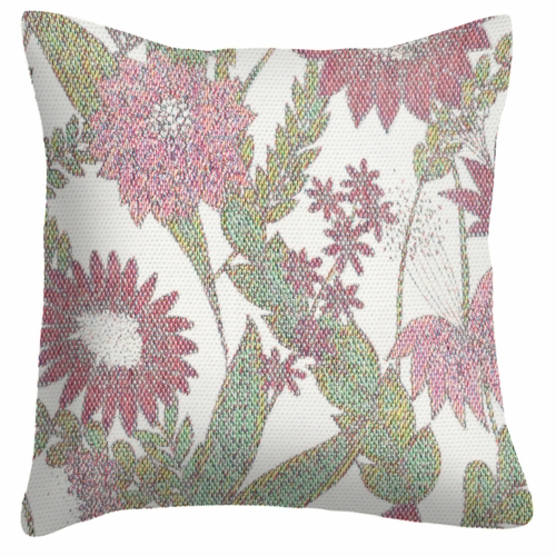 Ekelund Weavers Vintage Violet Cushion Cover