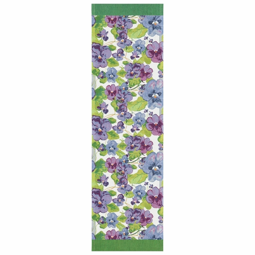 Ekelund Weavers Viol Table Runner, 14 x 47 inches
