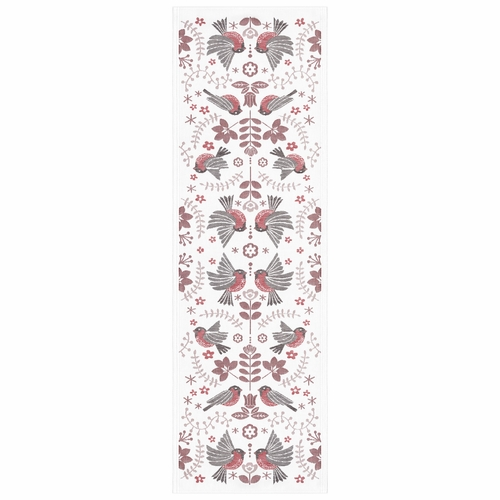 Ekelund Weavers Winter Birds Table Runner, 14 x 47 inches