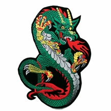 "12"" DRAGON PATCH"