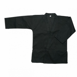 WACOKU 12OZ BLACK HEAVY KARATE JACKET