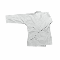 12OZ WHITE HEAVY KARATE JACKET