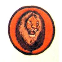 "3"" LION PATCH"