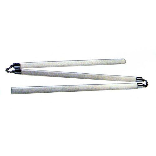 3 SECTION WHITE WAX STAFF