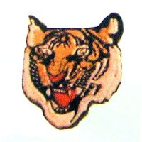"3"" TIGER'S PATCH"