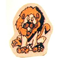 "4"" LION PATCH"