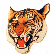 "5"" TIGER'S TIGER'S/GOLDEN TIGER'S PATCH"