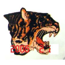 "9"" GOLDEN TIGER'S PATCH"