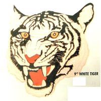 "9"" TIGER'S WHITE PATCH"