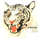 """9"""" TIGER'S WHITE PATCH"""