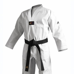 ADIDAS ADICHAMP 3 TKD UNIFORM WHITE V-NECK - image 1