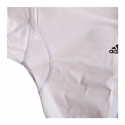 ADIDAS ADICHAMP 3 TKD UNIFORM WHITE V-NECK - image 3