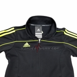 ADIDAS TRACK SUIT JACKET BLACK - image 2