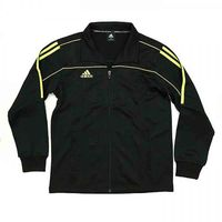 ADIDAS TRACK SUIT JACKET BLACK