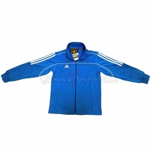 ADIDAS TRACK SUIT JACKET BLUE