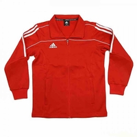 ADIDAS TRACK SUIT JACKET RED