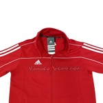 ADIDAS TRACK SUIT JACKET RED - image 2