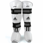 ADIDAS COMPLETE TAEKWONDO SPARRING GEAR SET WITH SHIN INSTEP - image 4