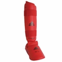 ADIDAS WKF RED SHIN & INSTEP PROTECTOR - image 1