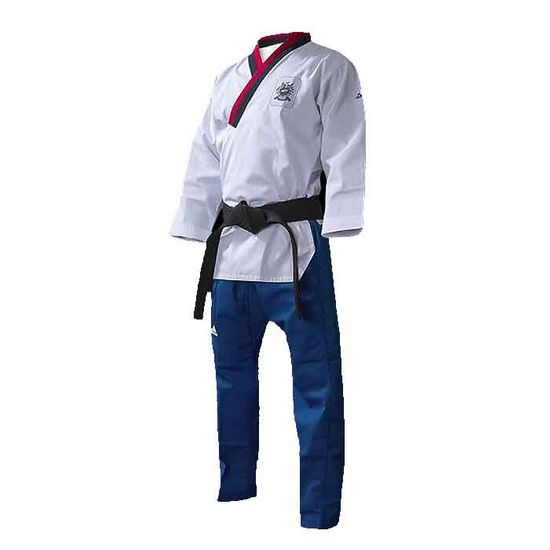 ADIDAS WTF POOMSAE UNIFORM FOR YOUTH MALE