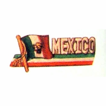 BANNER MEXICO PATCH