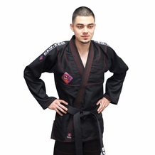 BLACK GENTEK JIU-JITSU UNIFORM