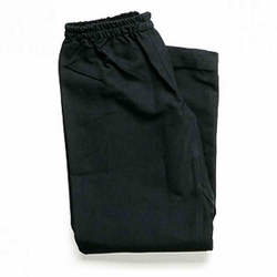 WKF KARATE PANTS BLACK 10oz