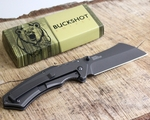 BUCKSHOT THUMB OPEN SPRING ASSISTED STAINLESS STEEL KNIFE - image 3