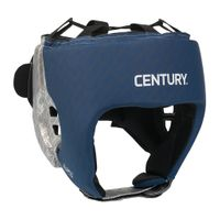 CENTURY BRAVE OPEN FACE HEADGEAR SILVER-NAVY
