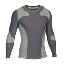 CENTURY LONG SLEEVE RASH GUARD GREY
