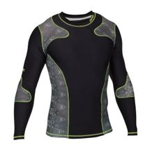 CENTURY LONG SLEEVE RASH GUARD BLACK