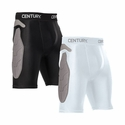 CENTURY PADDED COMPRESSION SHORTS BLACK YOUTH - image 2
