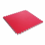 "CENTURY REVERSABLE 1.5"" THICK PUZZLE MAT BLUE/RED - image 1"