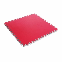 "CENTURY REVERSABLE 1.5"" THICK PUZZLE MAT RED/BLACK"