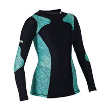 CENTURY WOMEN'S LONG SLEEVE RASH GUARD SMALL