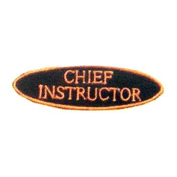 CHIEF INSTRUCTOR EACH PATCH