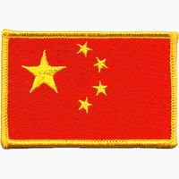 "CHINA FLAG PATCH 2.5"" X 3.5"""