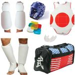COMPLETE CLOTH SPARRING GEAR SET W/ BAG