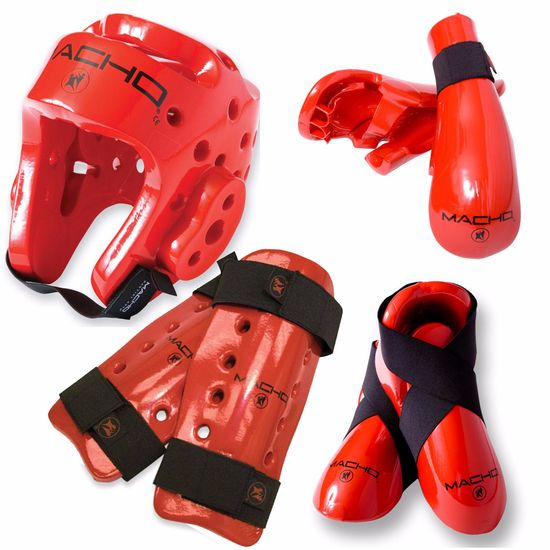 MACHO DYNA DELUXE  SPARRING GEAR SET