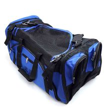 DELUXE SPORTS BAG WITH MESH TOP
