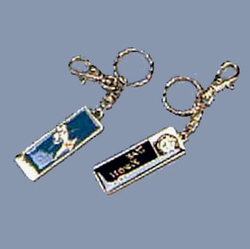 DELUXE TAE KWON DO KEYCHAIN