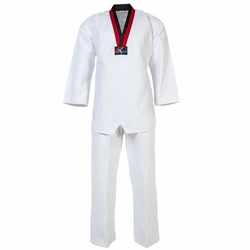 DELUXE V-NECK POOM TKD UNIFORM