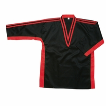 DEMO TEAM V-NECK UNIFORM TOP