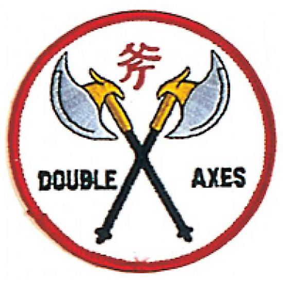 DOUBLE AXES PATCH