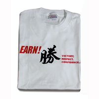 EARN PRINTED T-SHIRTS