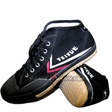 FEIYUE BLACK HIGH TOP SHOES
